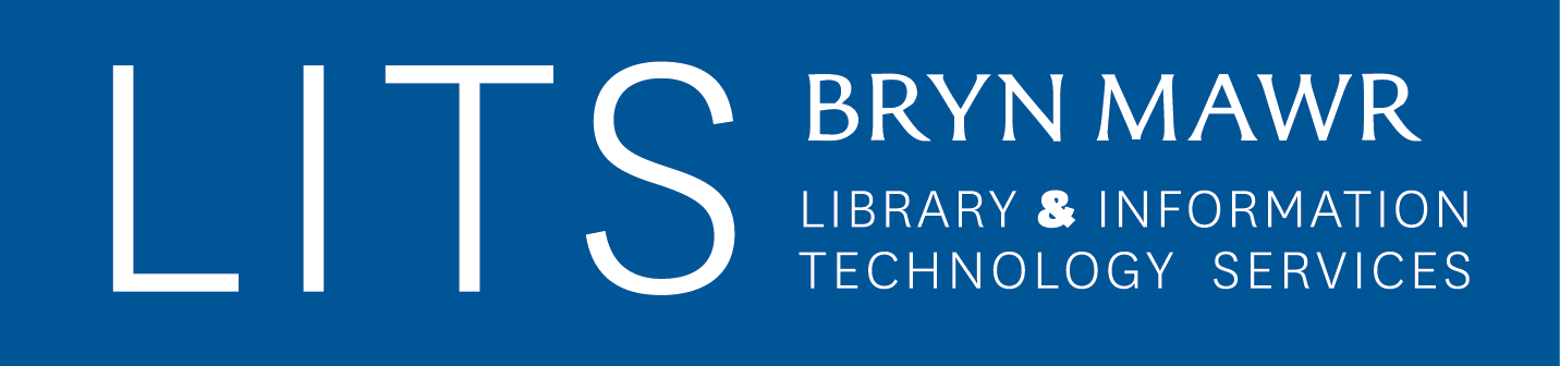 LITS Bryn Mawr Library & Information Technology Services